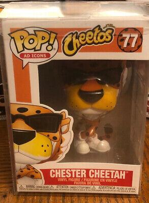 Funko Pop Chester Cheetah #77 Ad Icons *IN STOCK* + Pop Protector, Free Ship