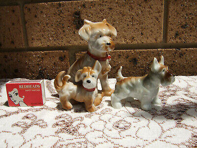 Collectable Vintage China Dogs Ornament Statue
