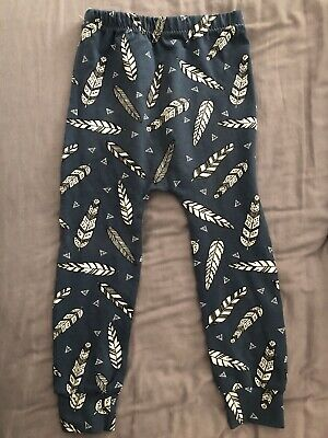 fred and noah leggings Blue Feathers *old Style