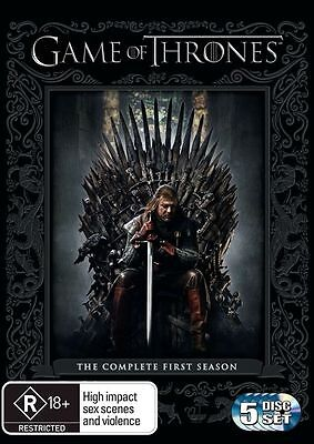Game Of Thrones Complete First Season (5 Disc Dvd Set)