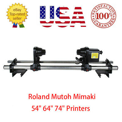 Auto Media Take Up Reel System for Roland SP300/RS640/FJ740 Mutoh 1614/1604 - US