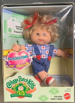 1997 Vintage Cabbage Patch Kids-Schooltime CPK Collection New! Mattel
