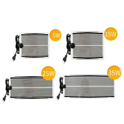 Waterproof Seedling Heat Mat Hydroponic Heating Pad Reptile Tank Heating