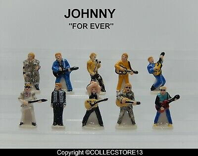 Serie Complete De Feves Johnny For Ever 2020 -Johnny Hallyday
