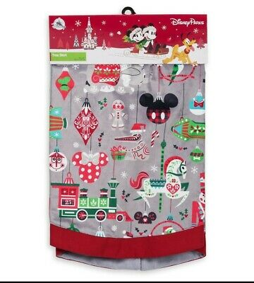 New Disney Parks Holiday Christmas Ornament Tiki Tree Skirt 2018 LIMITED RELEASE
