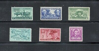 1949 - Commemorative Year Set - US Mint NH Stamps - Lowest Prices