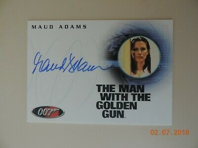 "The Complete James Bond - A55 Maud Adams ""Andrea Anders"" Autograph Card"