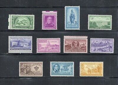 1950 - Commemorative Year Set - US Mint NH Stamps - Lowest Prices