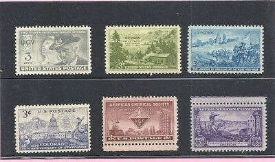 1951 - Commemorative Year Set - US Mint NH Stamps - Lowest Prices