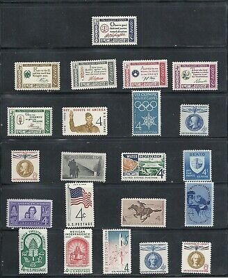 1960 - Commemorative Year Set - US Mint NH Stamps - Lowest Prices