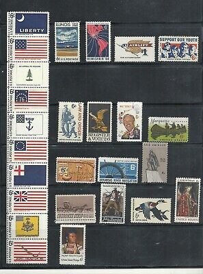 1968 - Commemorative Year Set - US Mint NH Stamps - Lowest Prices