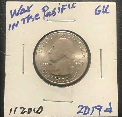 2019-P BU Washington Quarters Roll ATB War In The Pacific Unsearched-Possible W?