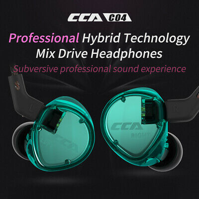 CCA C04 In Ear Headset  Ergonomic Design Clear Voice HiFi Music Sport Earphone