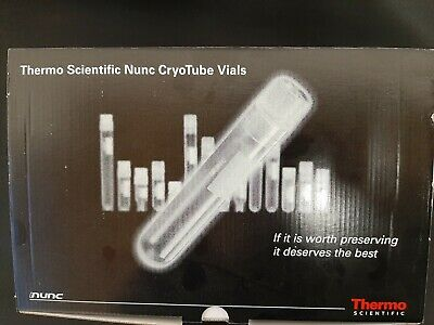 Nunc STERILE 1.8ml Cryo Vials  bag of 50 363401