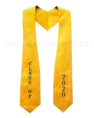 Class of 2020 Embroidered Stole