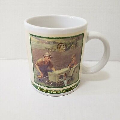 John Deere Coffee Mug 8 OZ 2005 Collectors Series #31051