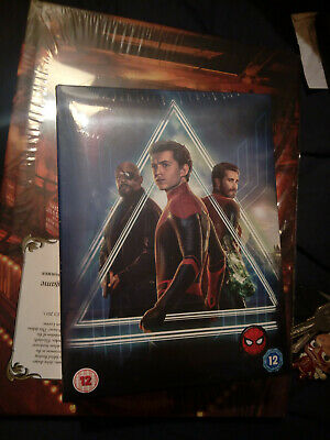 Spider-Man : Far From Home 4K Ultra HD Zavvi Exclusive Collector's Edition