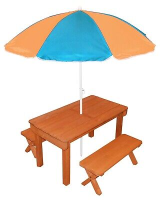 Back Bay Play Kid Wooden Premium Sand and Water Table & Convertible Picnic Table