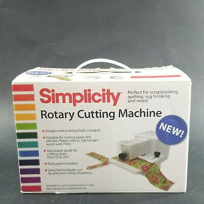 Simplicity 881950W Rotary Cutting Machine NEW Open Box