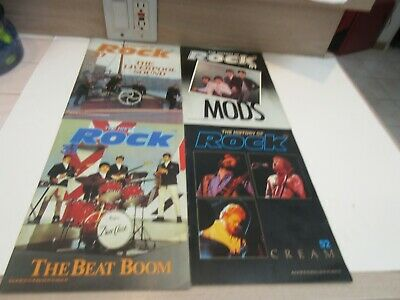 History of Rock Magazine, Liverpool Sound, Mods, Beat Boom, CREAM, MORE
