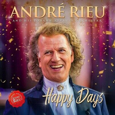 Happy Days - Andre / Johann Strauss Orchestra Rieu (2019, CD NIEUW)