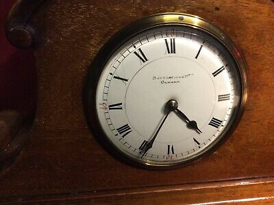 Working quality antique mantle CLOCK by Butterfield bros of Oldham c1920