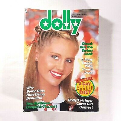 Dolly Magazine April 1980 Issue 114 Vintage Australian Teen 80s Fashion