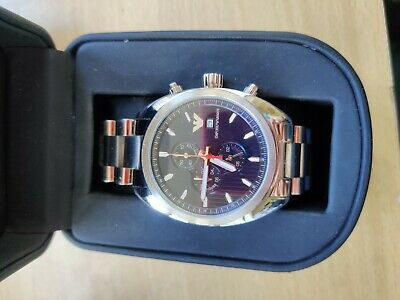 Genuine Emporio Armani Mens Watch Blue Dial Stainless Steel - Paid €275