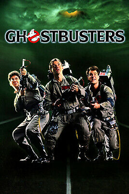 """GHOSTBUSTERS 11""""x17"""" MOVIE POSTER PRINT"""