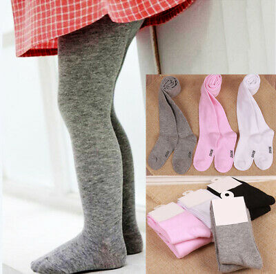 Newborn Baby Cotton Socks Girls Infant Knee High Long Socks Autumn Winter NEW