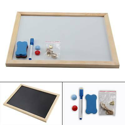 Magnetic Whiteboard A3 Dry Wipe Eraser Markers Memo Notice Office School