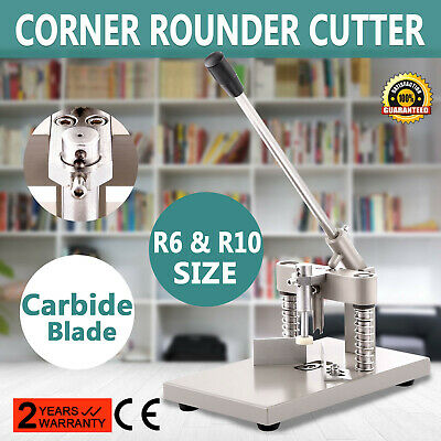 Corner Rounder Cutter Heavy Duty Commercial Cutting Thick Stack Metal for Books