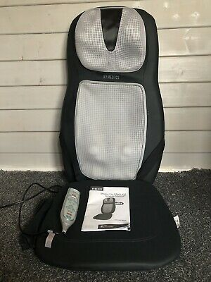 Homedics Shiatsu 2 in 1 Back & Shoulder Massager with Heat Pain Relief Soother