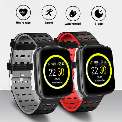 XGODY Waterproof IP68 Smart Watch Heart Rate Fitness Tracker for Android iPhone