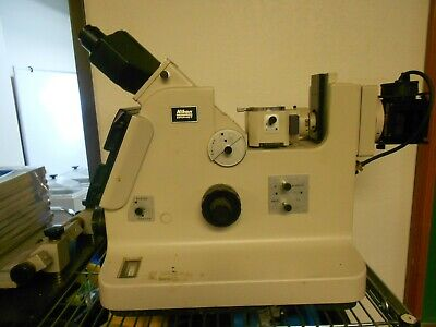 Nikon EPIPHOT Metalurgical Inverted Microscope for Parts