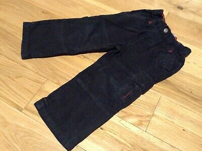 2-3 Years Boy's George Black Cargo Jeans