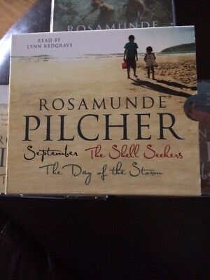 Rosamunde Pilcher Giftpack: September/ The Shell Seekers Day Of The Storm Vgc