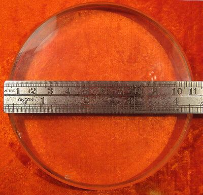 FLAT SURFACE OPTICAL PLATE 110x18mm/4.3x0.71inch 1/12 Test Wave +BOX USSR RUSSIA