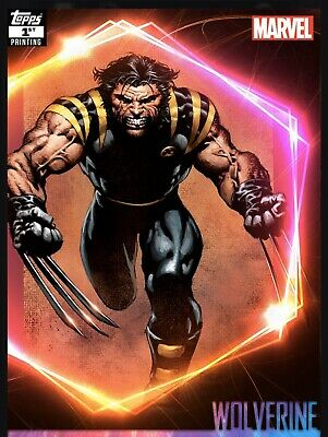 Topps Marvel Collect Ultimate Universe Wolverine 1st Print! Digital 250cc