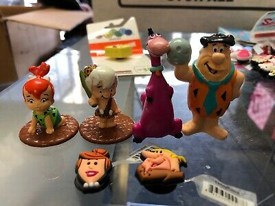 The Flintstones Figures With SHOE CHARMS LOT FOR CROC SHOES JIBBITZ BRACELETS