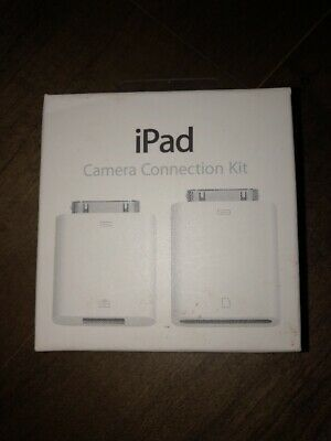 Genuine Apple iPad Camera Connection Kit MC531ZM/A New In Box Sealed