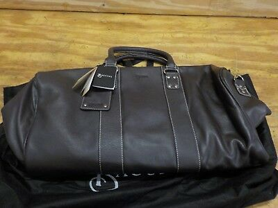 BACCINI travel bag TOBY leather Brown