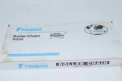 Chain Length 10 ft. NEW TSUBAKI 60 TW 10 RS60 Carbon Steel Roller Chain