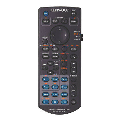 Kenwood KNA-RCDV331 Wireless Remote Control for Select Kenwood Receivers NEW