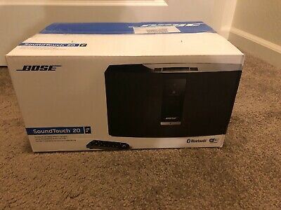 Bose Black SoundTouch 20 Series III Wireless Music System.