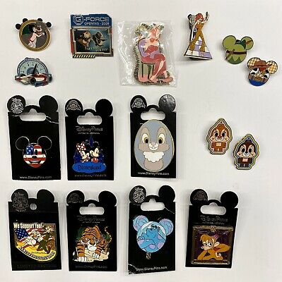 Disney Trading Pins - Mickey Minnie Sully Chip N' Dale Free Ship! You Choose!