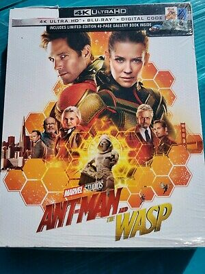 New Marvel Antman and the wasp Target 4k ULTRA HD & Blu-ray blue ray NO DIGITAL