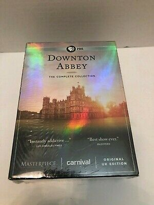 Downton Abbey PBS The Complete DVD Collection Brand New And Unopened
