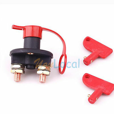 Racing Battery Kill Switch Cut-Off Power Disconnect 12V 200 Amp Breaker Boat