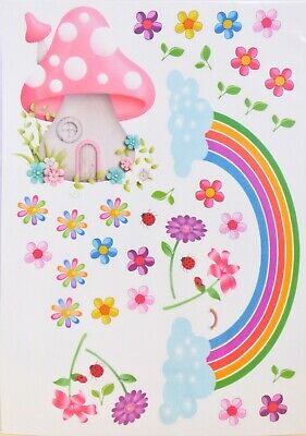 Fairy Door Wall Stickers - Removable - Over 30 Stickers - Australian Made